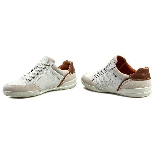 Sneakersy ECCO - Enrico 53753459132  Shadow White/White