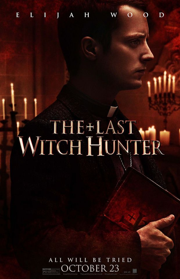 THE LAST WITCH HUNTER movie poster No.6 w/ Elijah Wood