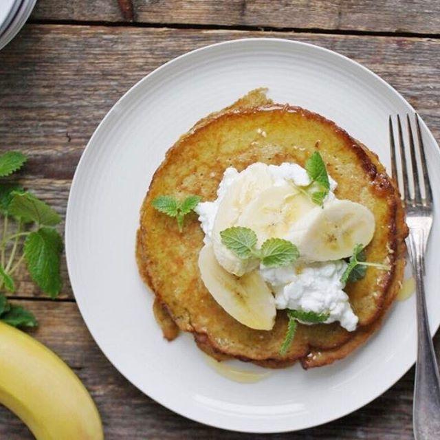 Nem morgenmad til i morgen? Bananpandekager en lkker klassikerhellip