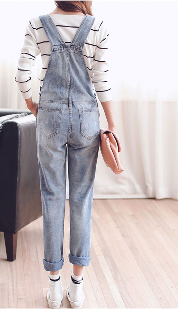 Denim Overalls Material: Cotton,Polyester,Lycra,Modal,Spandex Fit Type: Straight Fabric Type: Broadcloth S-2-4 M-6 L-8 XL-10 XXL-12-14 Runs Small Order a size larger for roomy fit. SIZE Waist Hips Ful