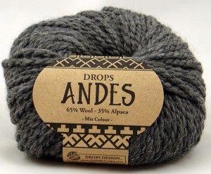 włóczka Drops ANDES 0519