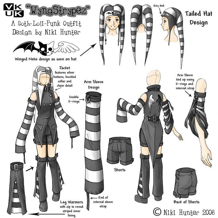 Punk Loli Costume Design