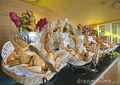 Bread Display At A Hotel Buffet Download From Over 0