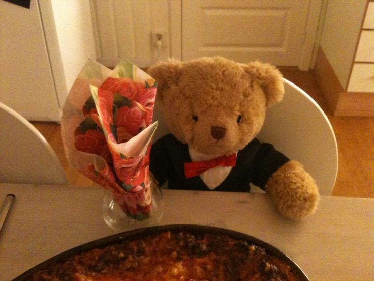 Beary good meal