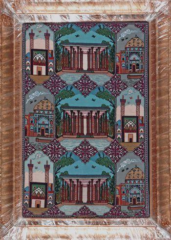 """Esfahan Persian Rug, Buy Handmade Esfahan Persian Rug 2' 4"""" x 3' 6"""", Authentic Persian Rug"""