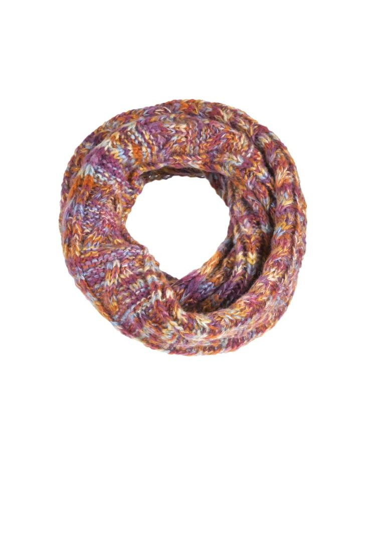 Rainbow Knitted Snood  http://www.mistral-online.com/accessories-c10/scarves-c45/rainbow-knitted-snood-multi-p28130