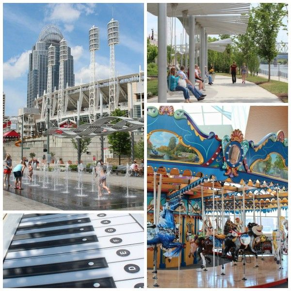 Smale Riverfront Park and other neat places on the Ohio River just waiting to be explored!