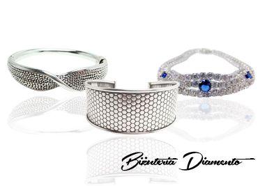 #bransoletki srebrne #Biżuteria Diamento