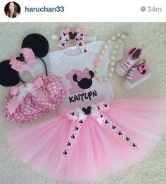 Hey, I found this really awesome Etsy listing at https://www.etsy.com/listing/224690261/minnie-mouse-inspired-birthday-outfit