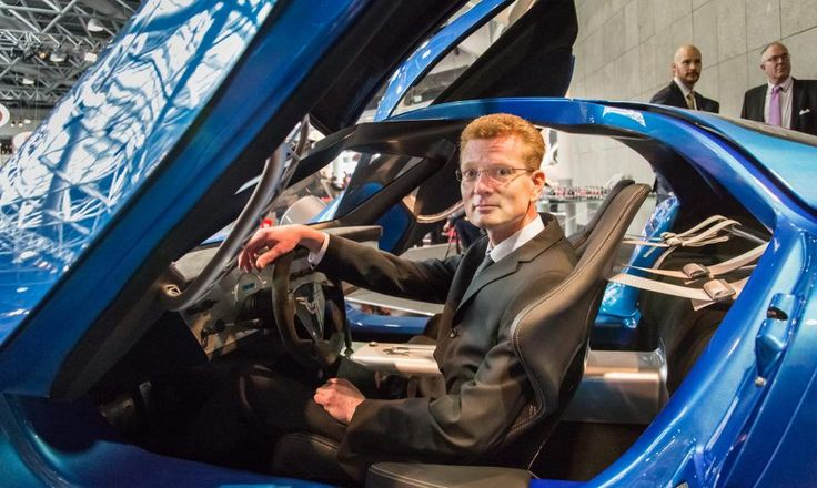 Pasi Pennanen at Top Marques Monaco, global launch for Toroidion 1MW Concept