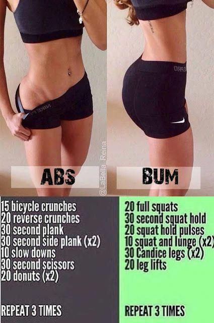 For your BUM and Abs daily workout routine and discover Lose Weight Naturally – …