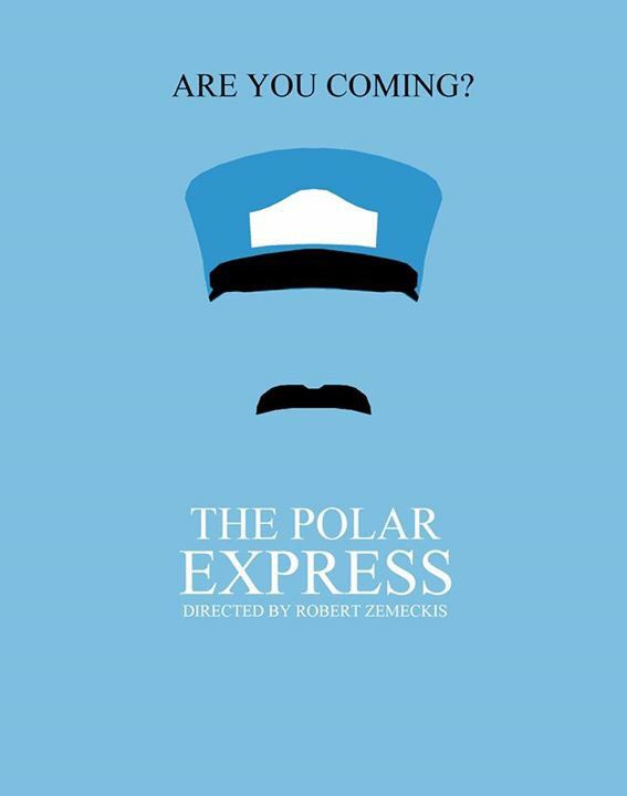 The Polar Express #Minimalist #Poster