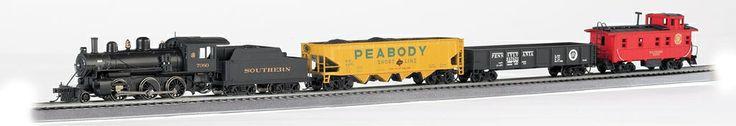 Bachmann HO 00825 Echo Valley Express Train Set, Southern Railway   ModelTrainStuff.com