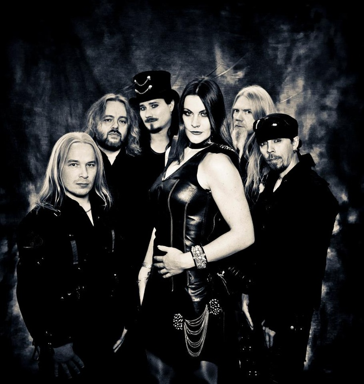 New Nightwish has a nice visual composition. Not that they haven't always, I just dig Floor Jansen's style.