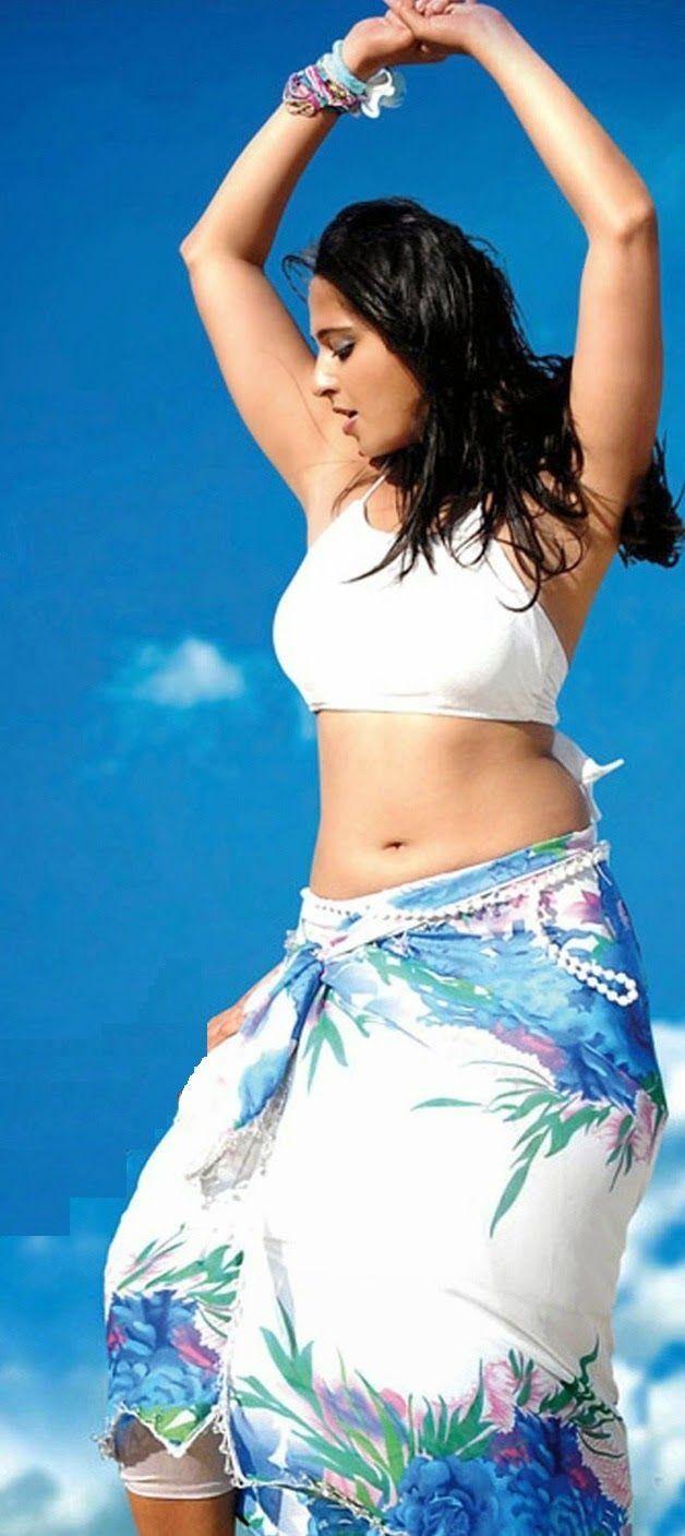 Anushka shetty anushka shetty hot stills pictures beautiful pictures - Hollywood Actress Anushka Shetty Stills In White Dress