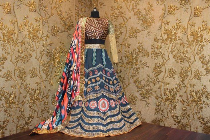 Lehenga Indian Designer Party Ethnic Wedding Women Dress Pakistani - S542 #Unbranded #LehengaCholi #PartyWeddingReceptionFestival