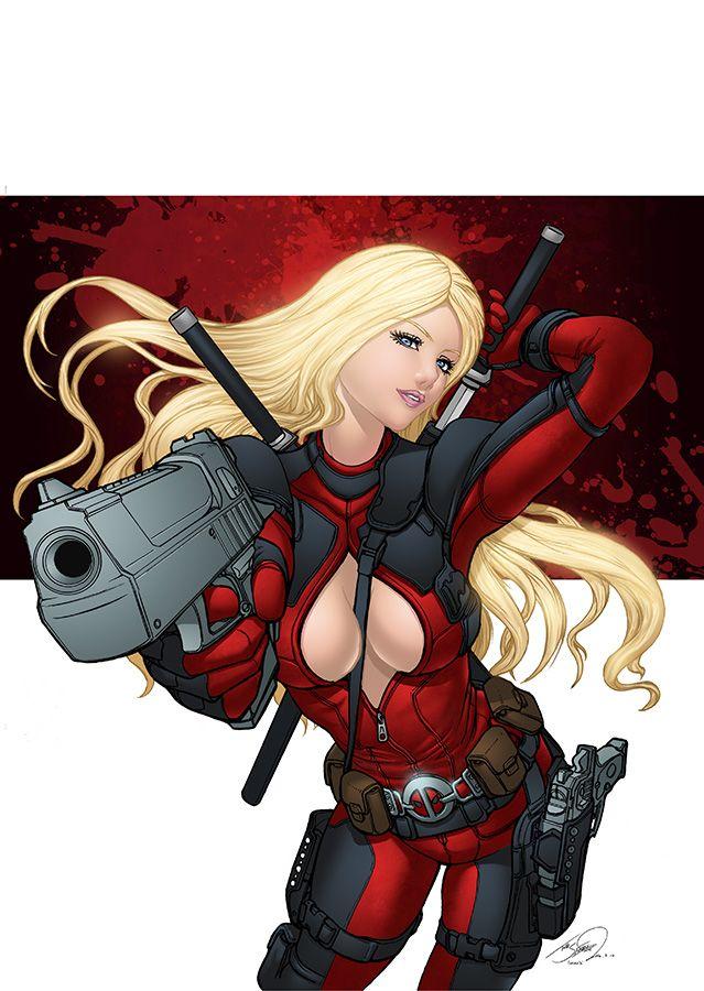 Lady Deadpool by SeanE.deviantart.com on @DeviantArt