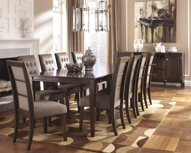 Ashley Furniture Formal Dining Sets 73 best delightful dining rooms images on pinterest | dining room