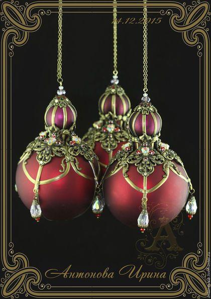 Новогоднее украшений-`Венеция-2`, для дома ручной работы.Антонова Ирина.Ярмарка Мастеров.