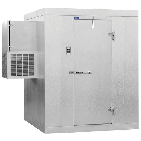 Nor Lake Kodb810 W Kold Locker 8 X 10 X 6 7 Outdoor Walk In Cooler With Wall Mounted Refrigeration Walk In Freezer Locker Designs Storage Spaces