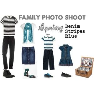 What to wear to a spring family photo shoot