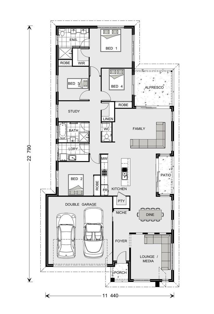 Oceanside 226 our designs orange builder gj gardner for Oceanside house plans
