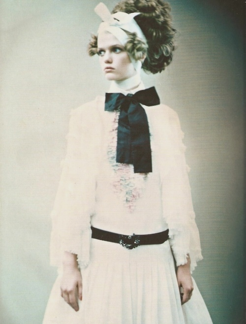 """""""So Splendid and Magic"""" by Paolo Roversi for Vogue Italia March 2005"""