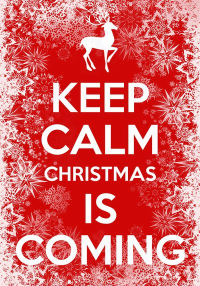 Go crazy becuase Christmas is in a few days!!