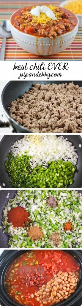 The most delicious and comforting chili ever to be made in your kitchen!   pipandebby.com