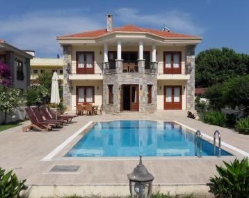 Love this holiday villa in Dalyan, Turkey. 40 mins from airport, 10 mins from beach and walking distance to lots of restaurants and bars.