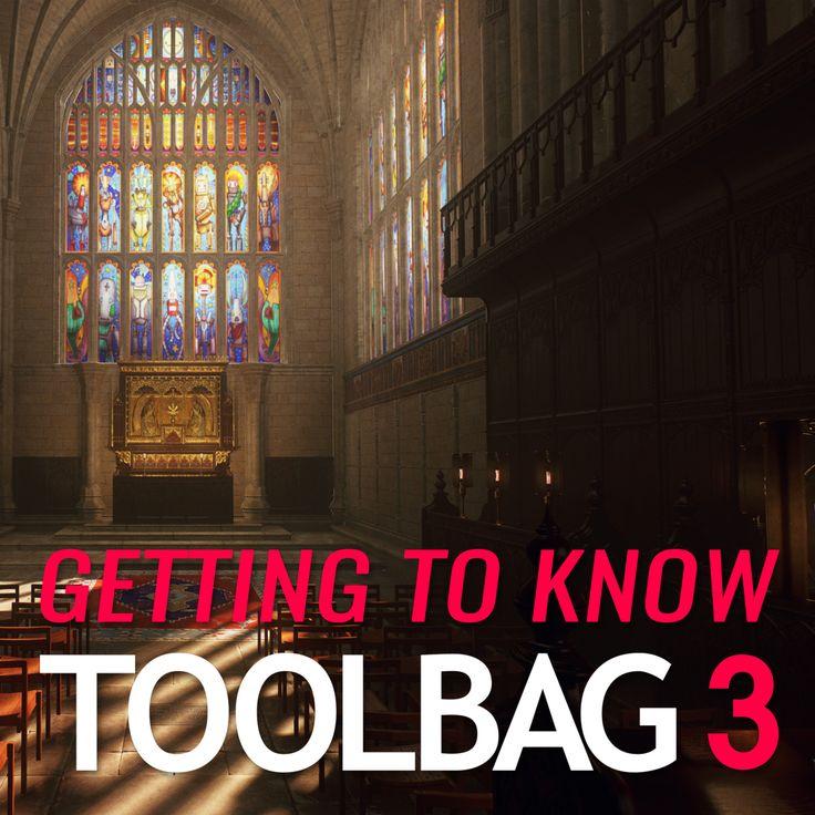 Getting to Know Toolbag 3, Joe Wilson on ArtStation at https://www.artstation.com/artwork/OdQ5k