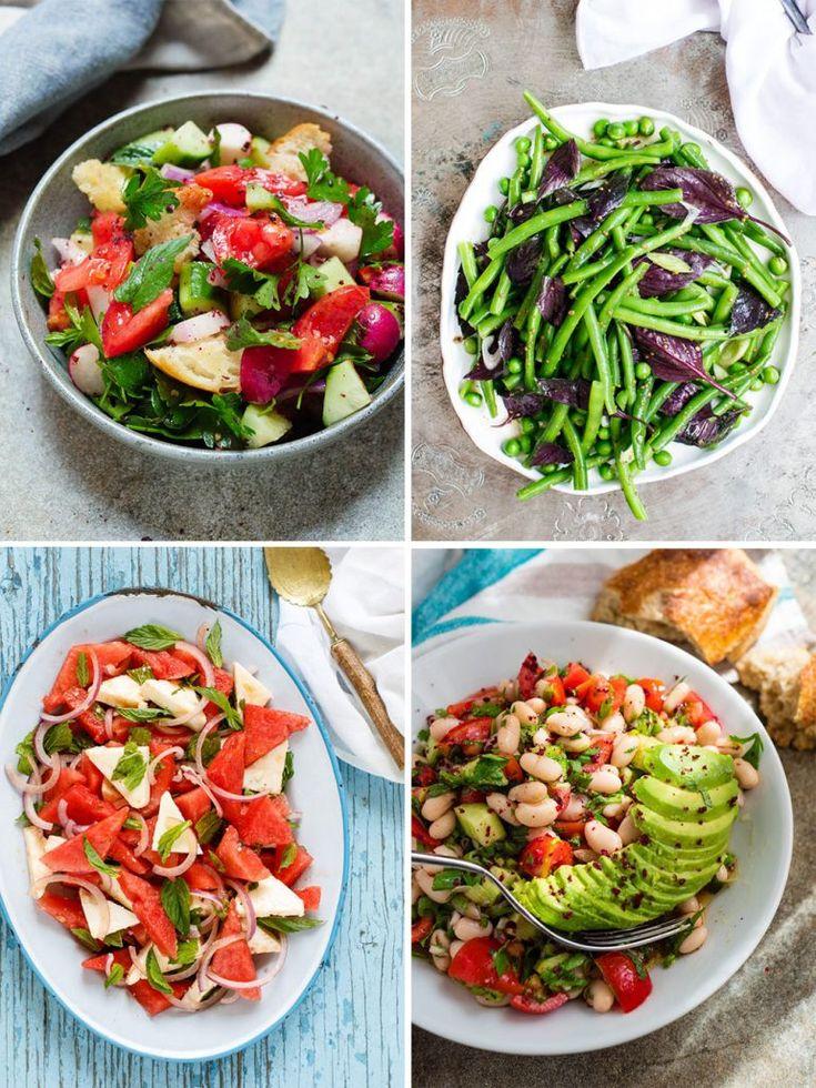 Salad: 21 Delicious Recipes for Summer   A car …