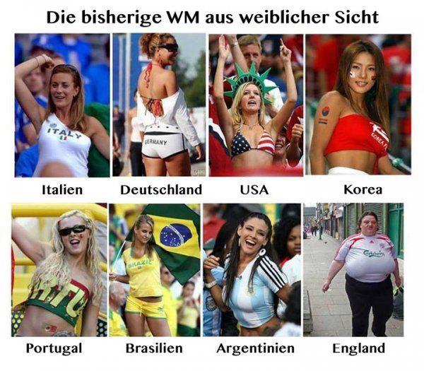 Die bisherige WM aus weiblicher Sicht | Webfail - Fail Bilder und Fail Videos