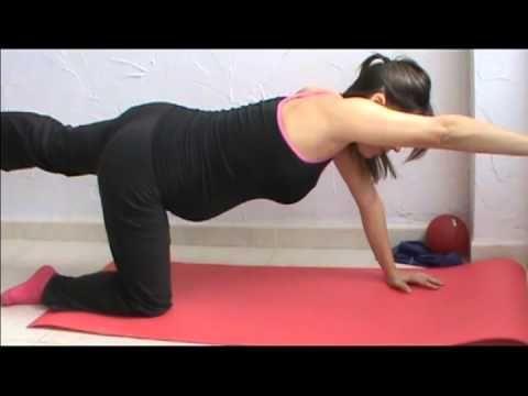Ejercicio en el embarazo. Segundo trimestre (parte 2 de 2) - YouTube