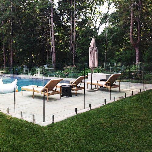 Best 25 pool fence ideas on pinterest pool landscaping - Pool fence landscaping ideas ...