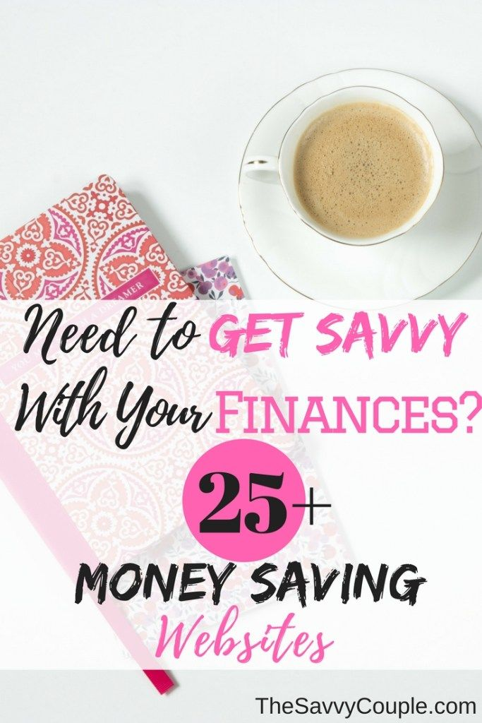 Check out these 25+ money saving websites to help with your personal finances. Time to get savvy with your money. Top companies to help you save money, earn money, and manage your money better.