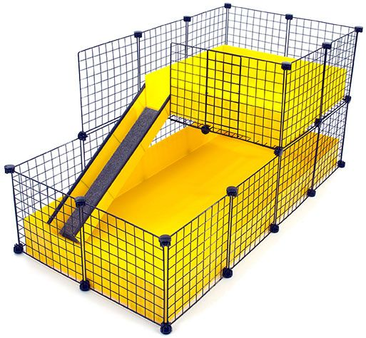 63 best images about guinea pig cage ideas on pinterest for How to make a cheap guinea pig cage