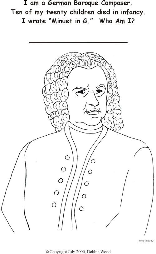 handel coloring pages - photo#27