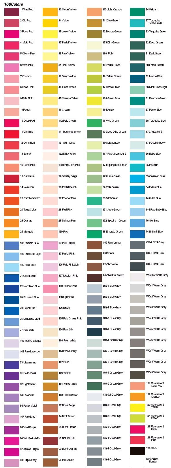 art,색을 탐하다 :: 신한화구, 마카를 소개합니다.(Marker Colors)
