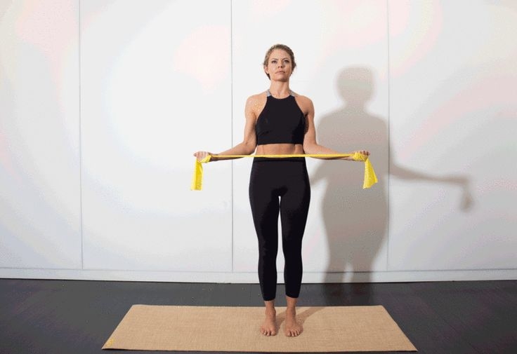 17. Skim the Surface (a.k.a. Rotator Cuff) #pilates #workout #fitness http://greatist.com/move/pilates-best-exercises-to-do-without-reformer