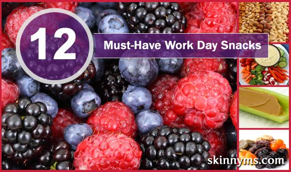 Check out these 12 Must-Have Workday Snacks!! #healthy #snacks