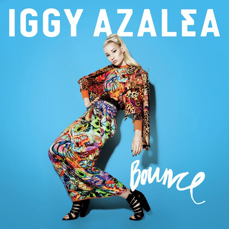 Caratula Frontal de Iggy Azalea - Bounce (Cd Single)