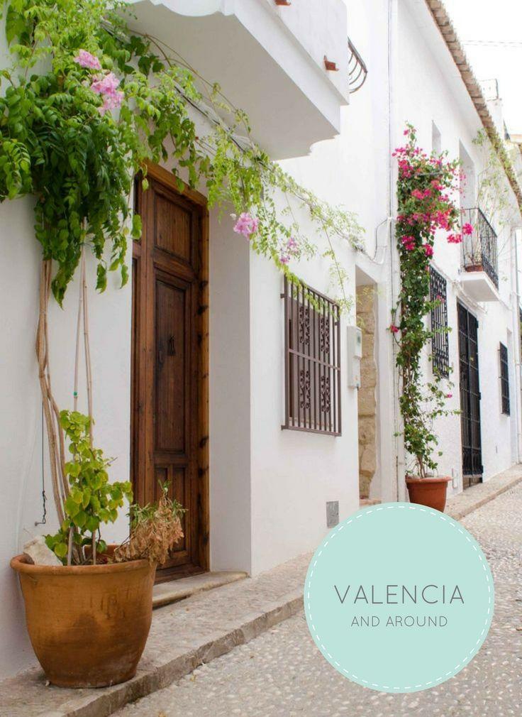 Valencia and around: Altea, Playa de la Grandella, Castell de Guadalest, Xativa en Valencia. The Early Morning Blog.