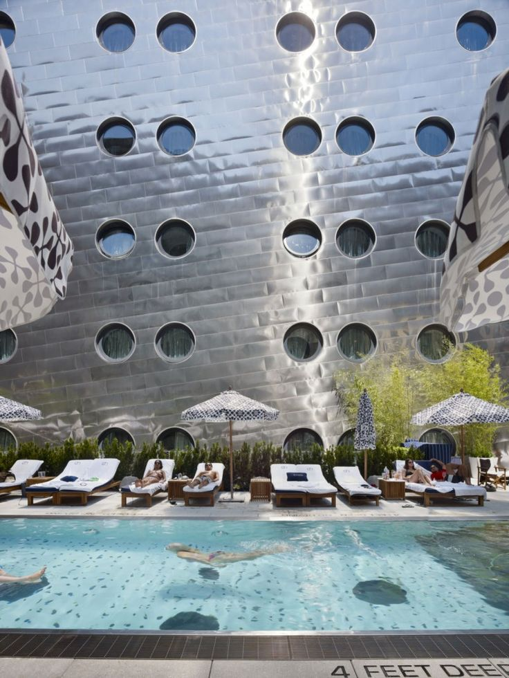 Dream Downtown Hotel by Handel Architects, New York