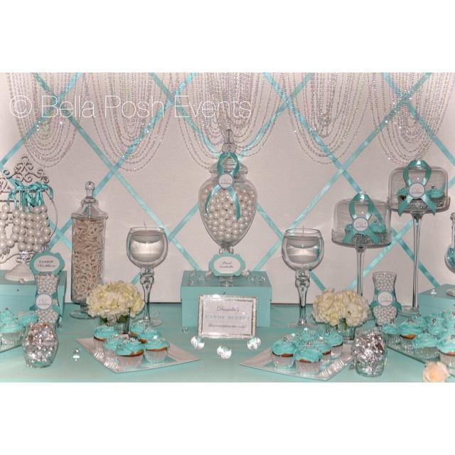 tiffany blue bridal shower dessert station dessert tables in 2018 pinterest wedding bridal shower and bridal