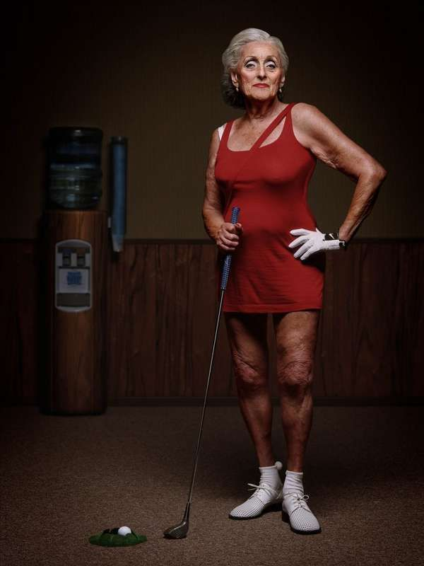 THE VISIBLE WOMAN - Celebrating Senior Beauty dutch photographer Erwin Olaf pictured ( as he called it ) Mature Beauties in 2009