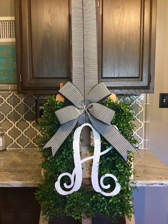 Check out this item in my Etsy shop https://www.etsy.com/listing/589105025/monogram-box-wood-wreath-box-wreath