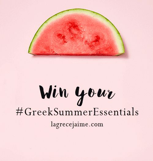 Win the most beautiful gifts from seven Greek Designers on Greek Summer Essentials by La Grèce J'aime!