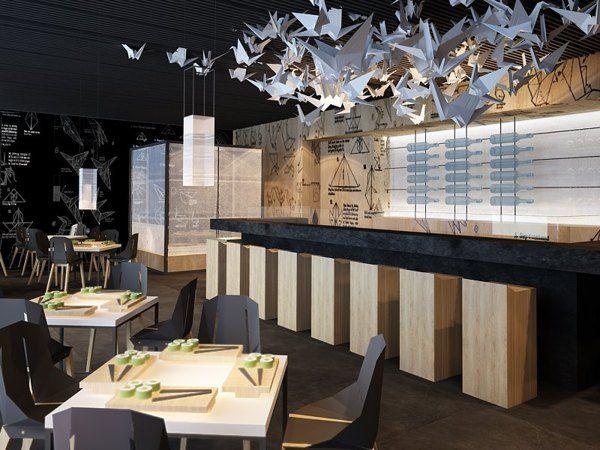 Best ideas about sushi bar design on pinterest