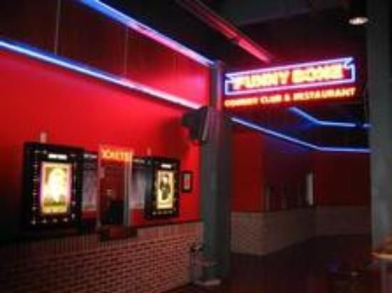 Funny Bone Comedy Club - Newport on the Levee, Newport, KY I ❤❤ it there!!